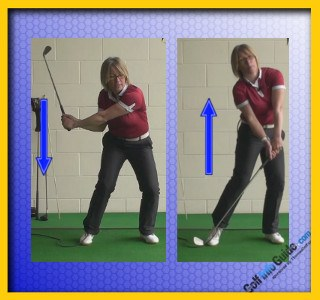 Golf Downswing Squat 2