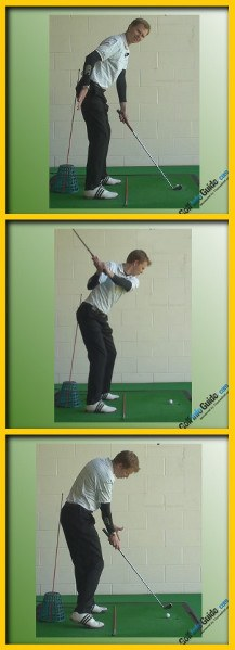 Golf Posture Drills, Get Consistent Swing With Tour Alignment Stick Drill
