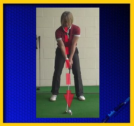 Great Golf Ball Striking With a Level Eye Swing 1