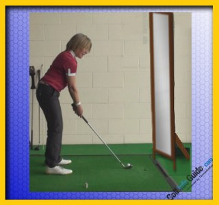 Great Golf Ball Striking With a Level Eye Swing 2