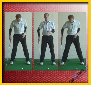 Great Golf Stability Through A Perfect Stance, Tour Alignment Stick Drill 2