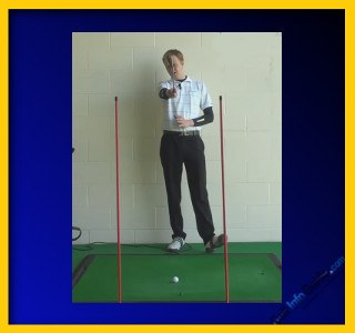 Hit The Golf Ball Straighter Through The Gateway, Tour Alignment Stick Drill 1