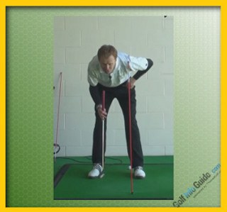 Hole More Breaking Putts On The Greens , Tour Alignment Stick Drill  1