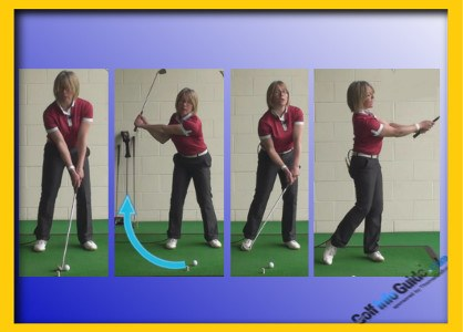 How to Hit the Three Quarter Golf Shot 1