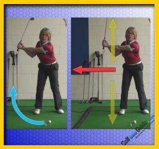 How to Hit the Three Quarter Golf Shot 2