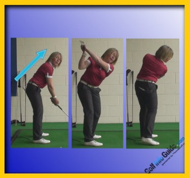 Keep a Consistent Forward Bend through Impact 1
