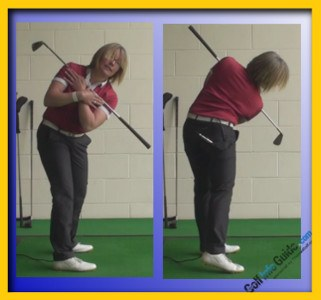 Keep a Consistent Forward Bend through Impact 2