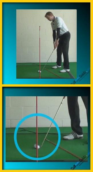 Shape The Ball – Hit A Golf Fade, Tour Alignment Stick Drill