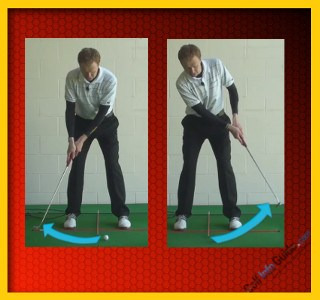 Solid Golf Putting – Ball And Shoulder Positioning, Tour Alignment Stick Drill 2