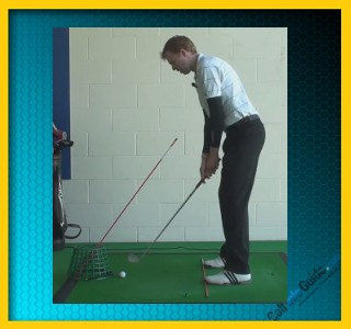 Strike The Ball Better With The Correct Hand Position, Tour Alignment Stick Drill 1