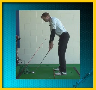 Strike The Ball Better With The Correct Hand Position, Tour Alignment Stick Drill 2