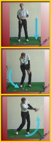 Strike The Golf Ball Like A Pro With This Impact, Tour Alignment Stick Drill