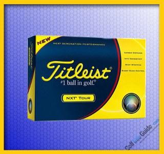 Titleist NXT Tour Golf Ball 1