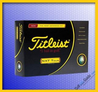 Titleist NXT Tour Golf Ball 3