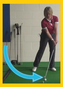 To Get Correct Ball Height You Need To Hit Down 1