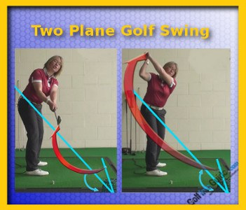 What Is the Difference between a One Plane Golf Swing and a Two Plane Golf Swing 2