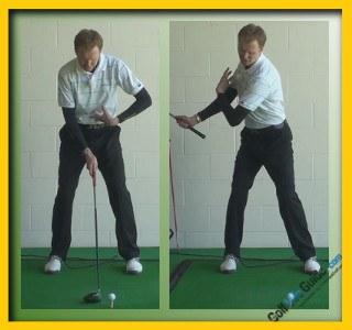 Angel Cabrera Pro Golfer Swing Sequence 1