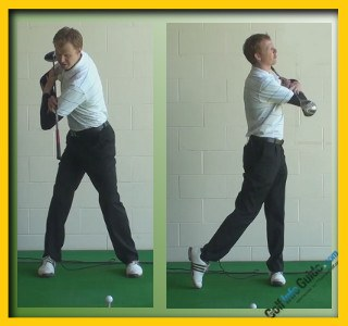 Angel Cabrera Pro Golfer Swing Sequence 2