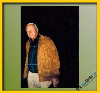 Arnold Palmer Pro Golfer Swing Sequence 1