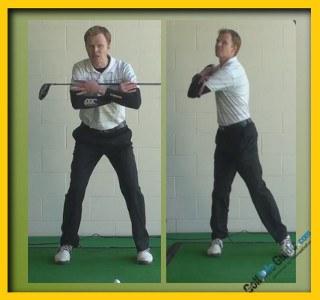 Arnold Palmer Pro Golfer Swing Sequence 2