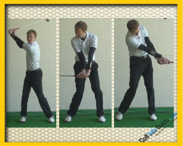 Ernie Els Pro Golfer Swing Sequence 1