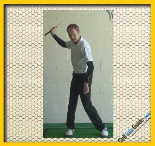 Ernie Els Pro Golfer Swing Sequence 2