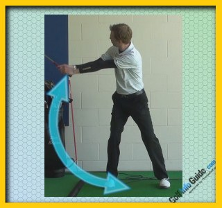 Fred Couples Pro Golfer Swing Sequence 2
