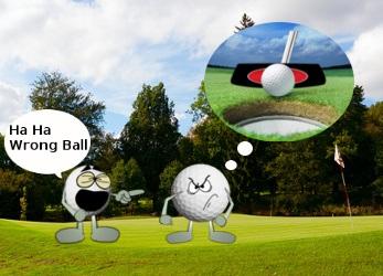 Golf Ball Fight Joke 1