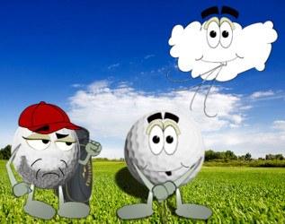 Golf Ball Fight Joke 2
