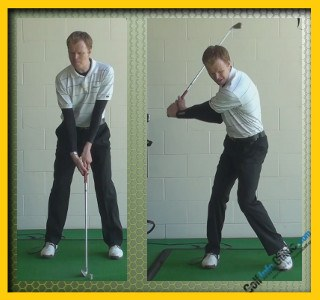 Jack Nicklaus Pro Golfer Swing Sequence 1