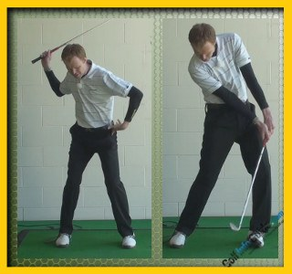 Jack Nicklaus Pro Golfer Swing Sequence 2