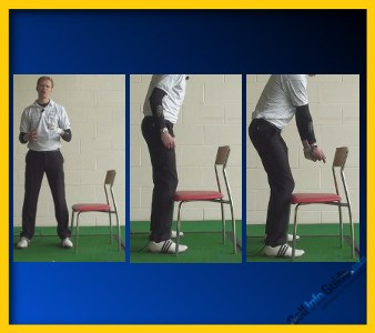 Justin Rose Right Knee Stays Flexed for Balance, Power 2
