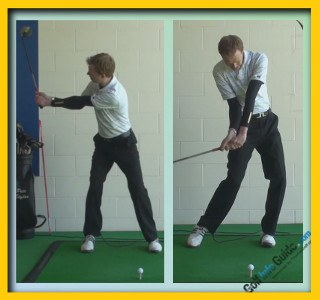 Keegan Bradley Pro Golfer Swing Sequence 2