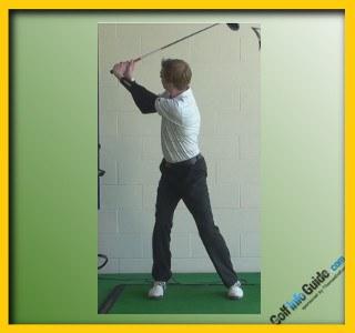 Lorena Ochoa Pro Golfer Swing Sequence 2