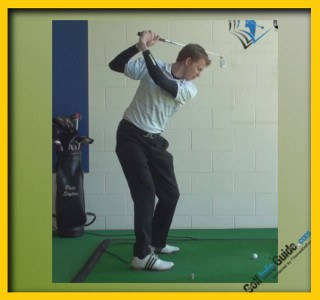 Natalie Gulbis Pro Golfer Swing Sequence 1