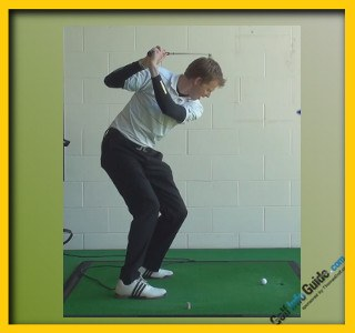 Natalie Gulbis Pro Golfer Swing Sequence 2