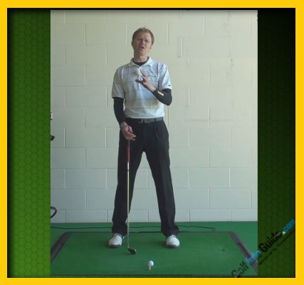 Padraig Harrington Pro Golfer Swing Sequence 1
