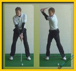 Retief Goosen Pro Golfer Swing Sequence 1