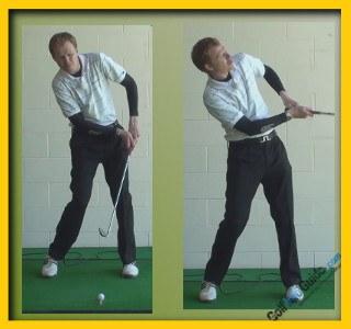 Retief Goosen Pro Golfer Swing Sequence 2