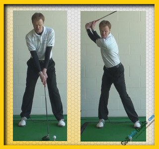 Rory McIlroy Pro Golfer Swing Sequence 1