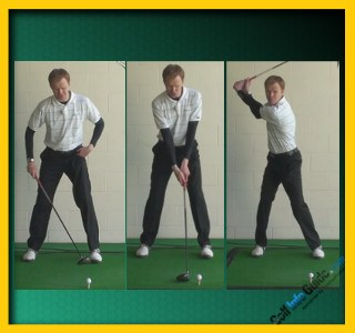 Scott Stallings Pro Golfer Swing Sequence 1