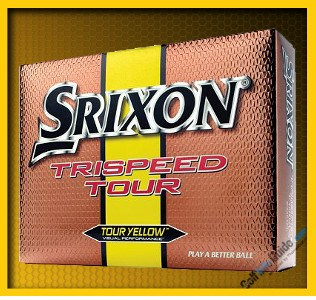 Srixon Trispeed Tour Length, Control are this Golf Ball's Strengths 1