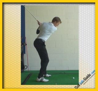 Steve Flesch Pro Golfer Swing Sequence 2