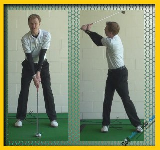 Stewart Cink Pro Golfer Swing Sequence 2