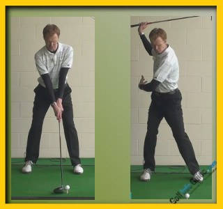 Tiger Woods Pro Golfer Swing Sequence 1