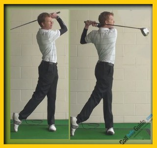 Tiger Woods Pro Golfer Swing Sequence 2