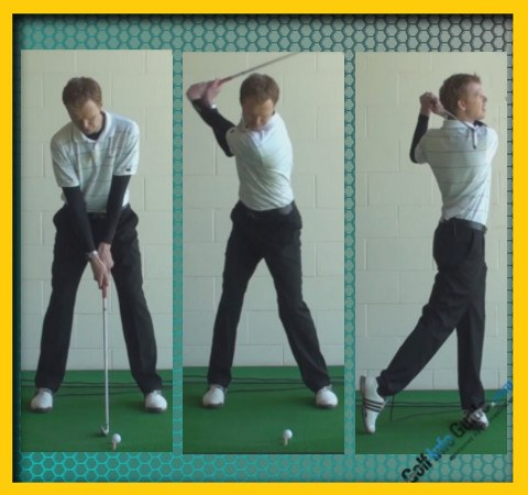 Trevor Immelman Pro Golfer Swing Sequence 1
