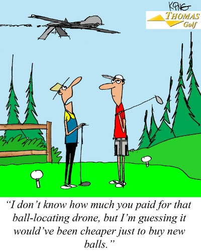golf drone jokes humor joke ball balls funny puns birthday course comic golfer bad sayings doctor locating quotes driver laughs