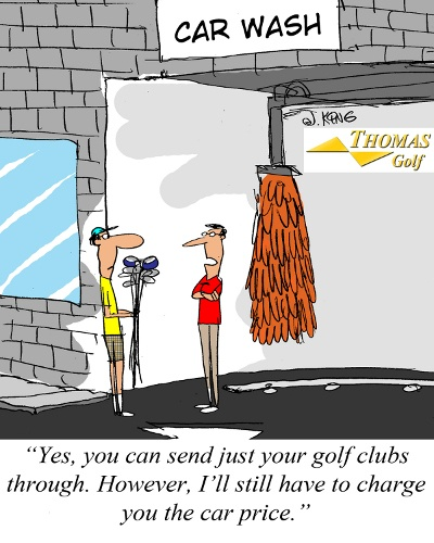 Club Car Wash Joke