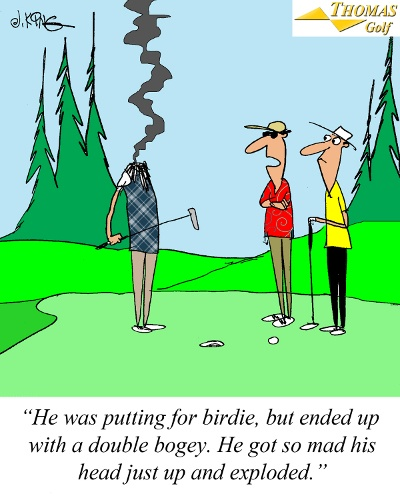 Putting For Birdie Joke